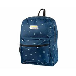 Awesome Double Backpack Blue