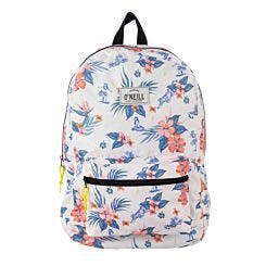 ONeill Floral Backpack White