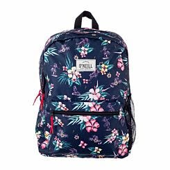 ONeill Floral Backpack Blue