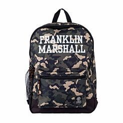 Franklin Marshall Camo Backpack