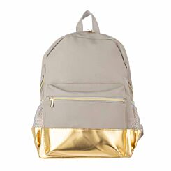 Stone and Gold Backpack