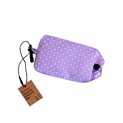 Ryman Reusable Foldaway Recycled Shopping Bag Purple