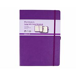 Ryman Notebook Large Ruled Soft Cover 192 Pages 96 Sheets