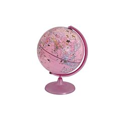 Ryman Illuminated Zoo Animals Globe 25cm Pink
