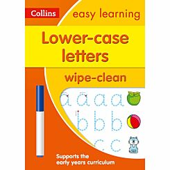 Collins Easy Learning Lower Case Letters