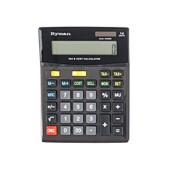 Ryman 14 Digit Calculator DX-14CSMTAX