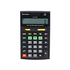 Ryman 12 Digit Calculator DX-120-AUTO-TAX
