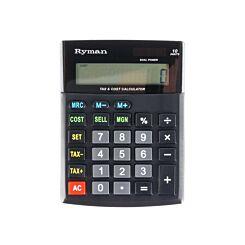 Ryman 10 Digit Calculator DX-10CSMTAX