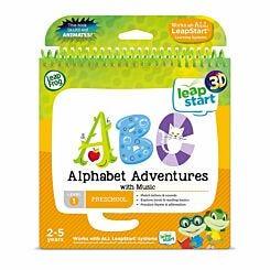Leapstart Alphabet Adventures Activity Book 3D