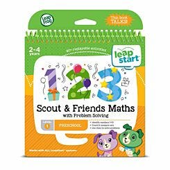 Leapstart Scout and Friends Maths Activity Book
