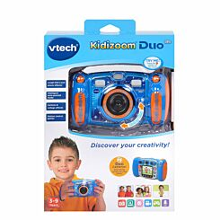Vtech Kidizoom Duo 5.0 Camera Blue