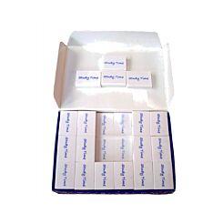 Study Time Erasers Medium 43x25x12mm Box of 20