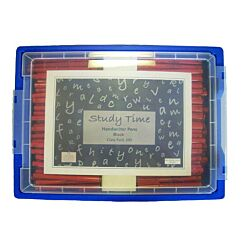 Study Time Handwriting Pens Gratnell Tray of 200 Blue