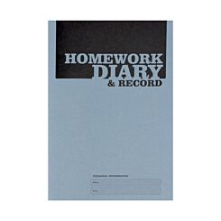 Silvine A5 Homework Diary 75gsm Pack of 20
