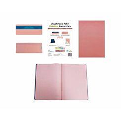 Premium Visual Stress Relief Starter Pack Pink