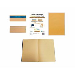 Premium Visual Stress Relief Starter Pack Orange