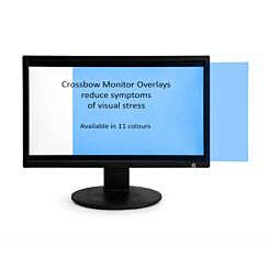 Monitor Overlay Widescreen 21.5 Sky Blue