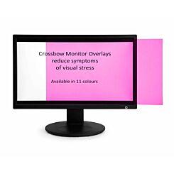 Monitor Overlay Widescreen 24 Purple