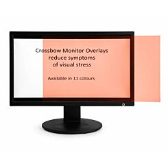 Monitor Overlay Widescreen 24 Pink