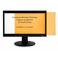 Monitor Overlay Widescreen 24 Orange