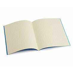 Tinted Exercise Book Standard 7x9 Squared 7.5mm Cream