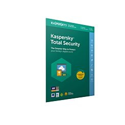 Kaspersky Total Internet Security 2020 3 Devices 1 Year Licence PC-Mac-Android