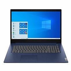 Lenovo IdeaPad 3i 81WC008BUK 17.3 inch HD Plus Laptop Intel Pentium Gold 6405U 4GB RAM 1TB Hard Drive Blue