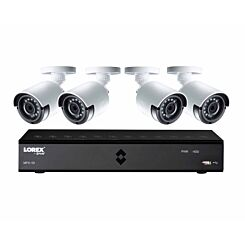 Lorex 8 Channel 1TB DVR with 4 x 1080p HD Cameras