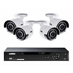 Lorex 8 Channel 2TB DVR with 4 x 4K Ultra HD Cameras