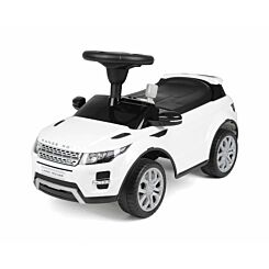 Range Rover Evoque Foot to Floor Ride On Car White