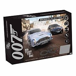 Micro Scalextric James Bond Battery Powered Race Set