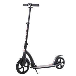 Homcom Teen Adult Aluminium Foldable Kick Scooter