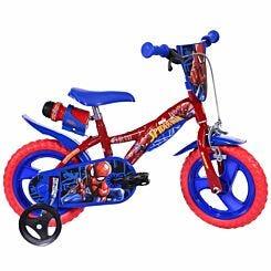 Spider-Man 12 Inch Wheel Childrens Bicycle