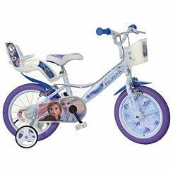 Disney Frozen 14 Inch Wheel Childrens Bicycle