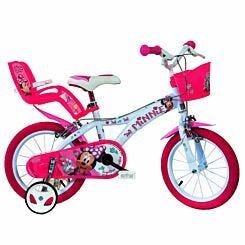 Disney Minnie 16 Inch Wheel Childrens Bicycle