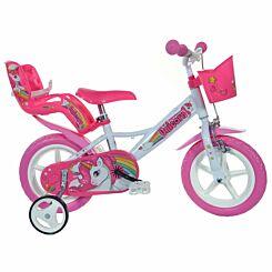 Unicorn 12 Inch Wheel Childrens Bicycle