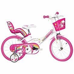 Unicorn 16 Inch Wheel Childrens Bicycle