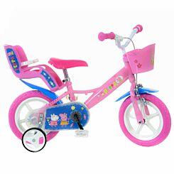 Peppa Pig 12 Inch Wheel Childrens Bicycle