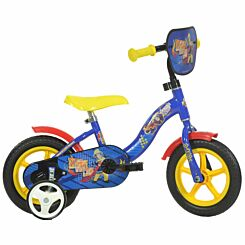 Fireman Sam 10 Inch Wheel Childrens Bicycle