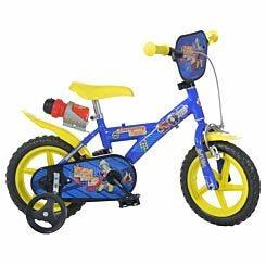 Fireman Sam 12 Inch Wheel Childrens Bicycle