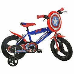 Captain America 16 Inch Wheel Childrens Bicycle