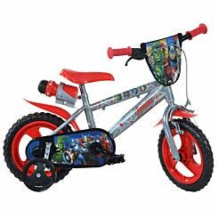 Avengers 12 Inch Wheel Childrens Bicycle