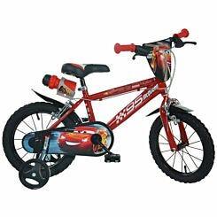 Disney Cars 3 14 Inch Wheel Childrens Bicycle