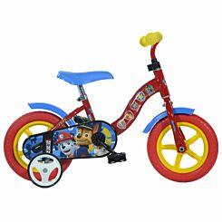 Paw Patrol 10 Inch Wheel Childrens Bicycle