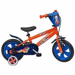 Hot Wheels 12 Inch Nylon Wheel Childrens Bicycle