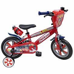 Disney Cars 3 12 Inch Nylon Wheel Childrens Bicycle