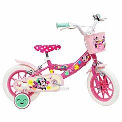 Disney Minnie 12 Inch Nylon Wheel Childrens Bicycle