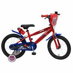 Spider-Man 16 Inch Spoked Wheel Childrens Bicycle