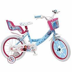 Disney Frozen 16 Inch Spoked Wheel Childrens Bicycle