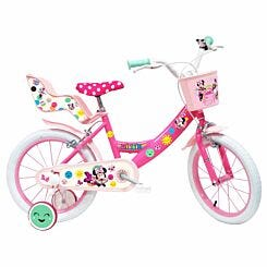 Disney Minnie 16 Inch Spoked Wheel Childrens Bicycle